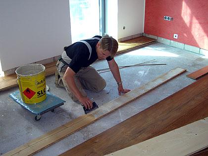 Berühmt Holzdielen und Fußbodenheizung, Fußbodenheizung und Holzdielen SW44